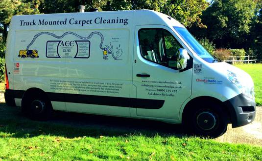 our rug cleaning services in london